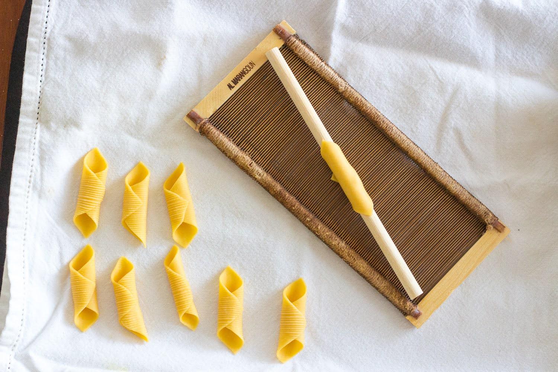 Garganelli pasta comb
