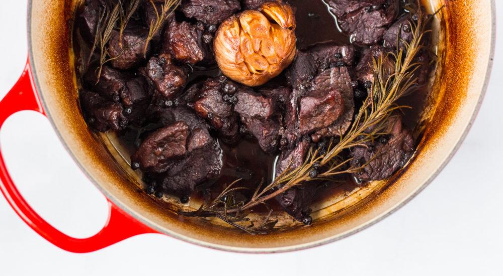 Peposo - Peppery Tuscan Beef Stew - qb cucina