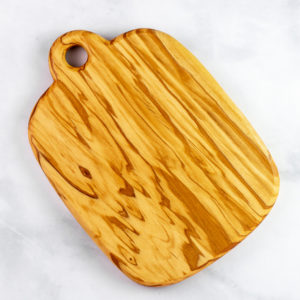 Olive wood cheese board - q.b. cucina