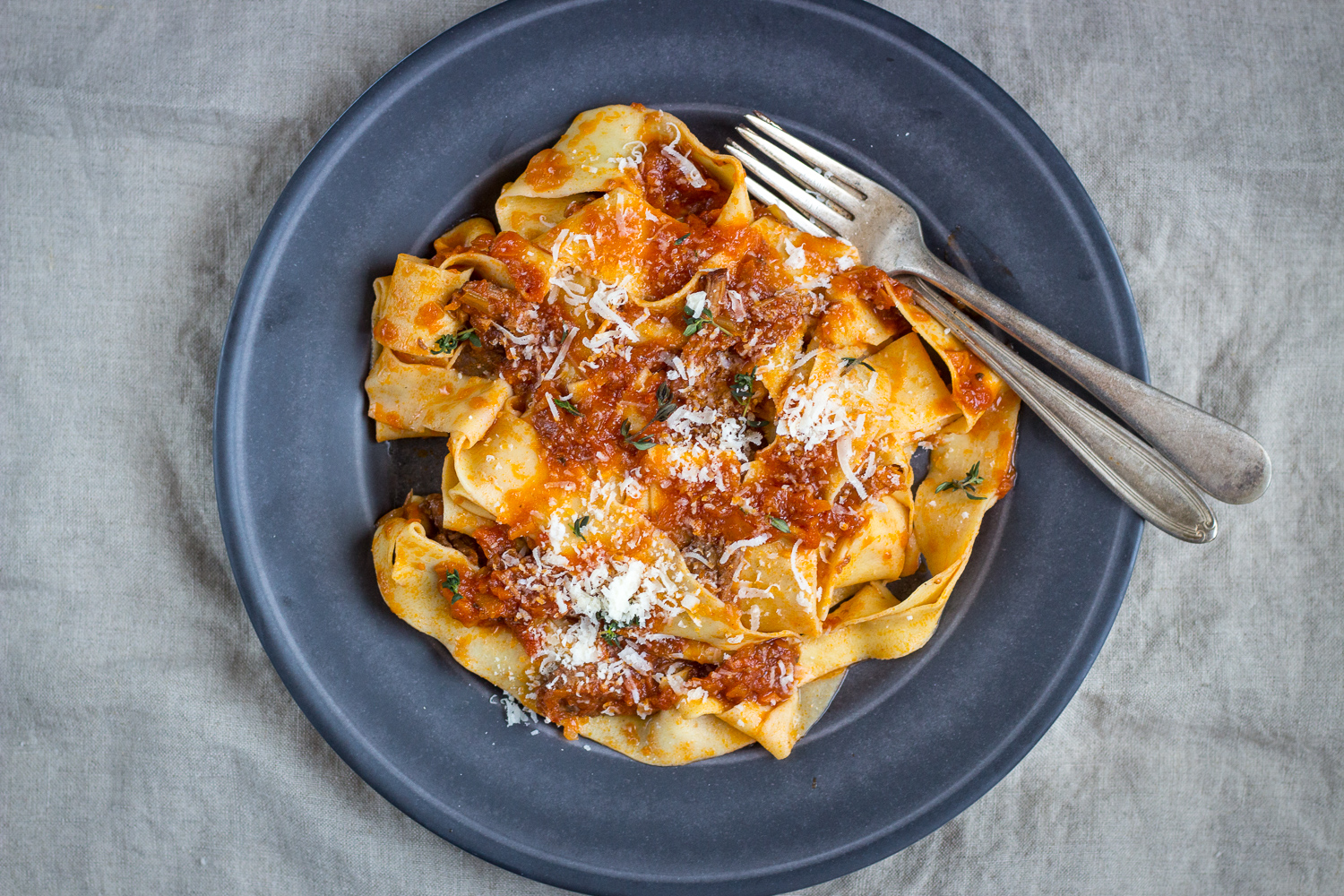 Pappardelle with Beef Short Rib Ragu