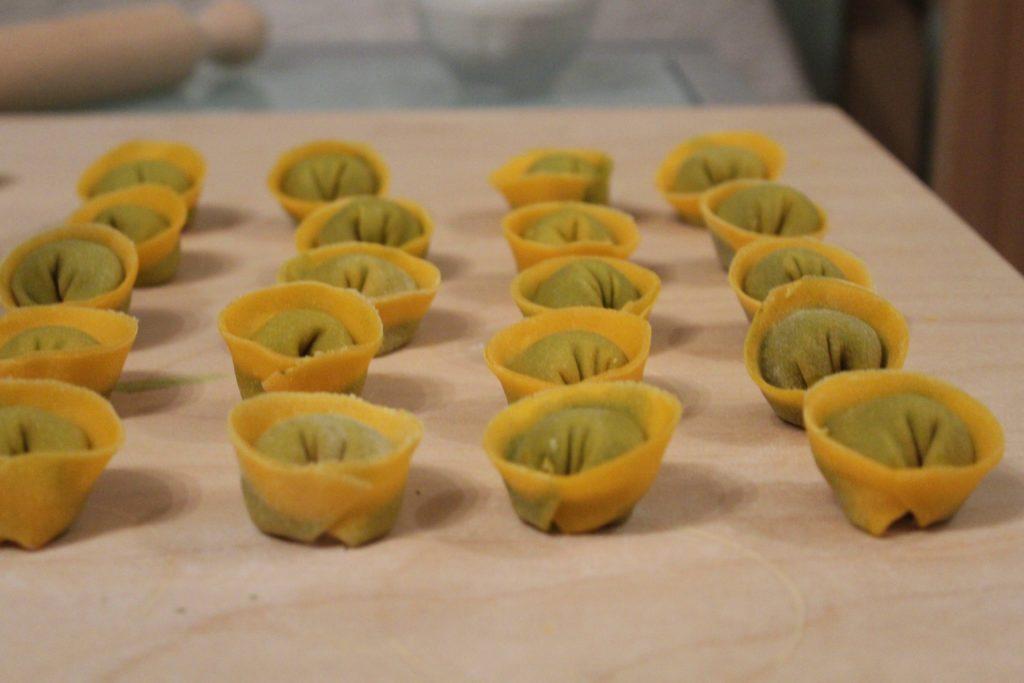 kale pesto cappellette - Laura Commandini - q.b. cucina