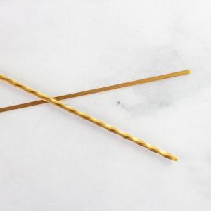 Brass utensil for maccheroni
