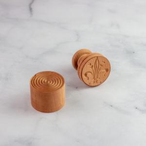 Italian pasta stamp for corzetti