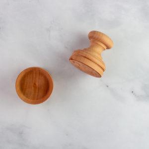 Wood corzetti pasta stamp from Italy