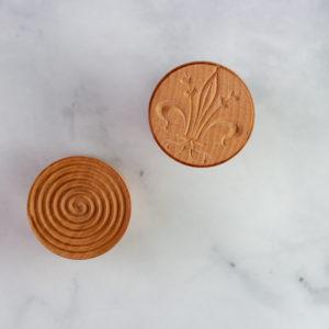 Corzetti pasta stamp patterns
