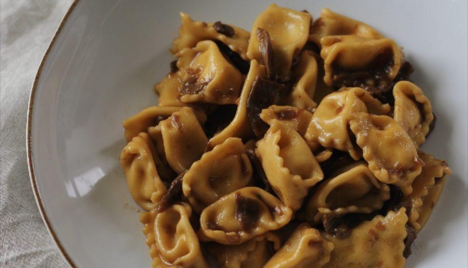 Ricotta truffle agnolotti del plin - q.b. cucina - Julia Yesberg