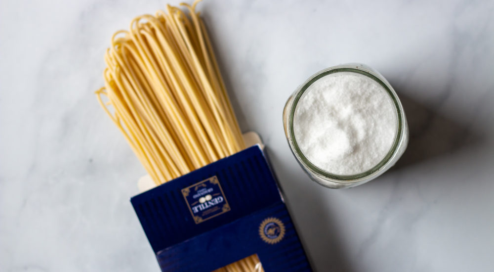 best salt for pasta water and Italian dry pasta