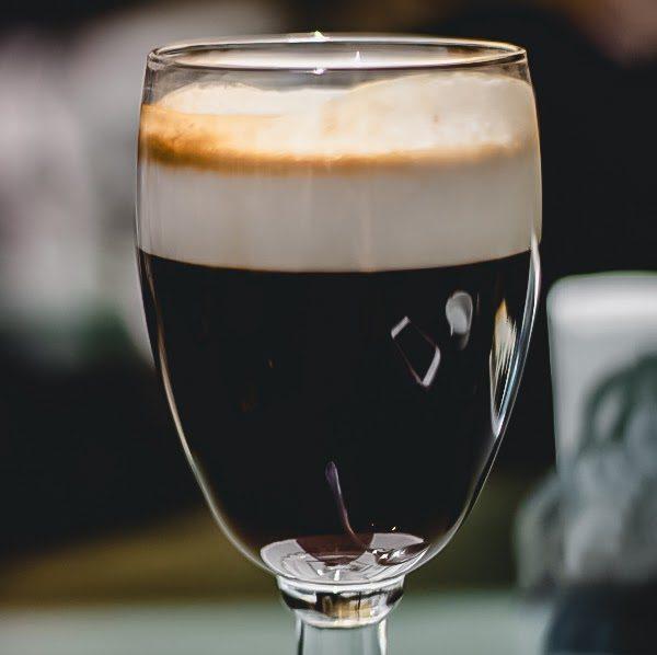 Bicerin from Caffe Bicerin in Turin, Italy