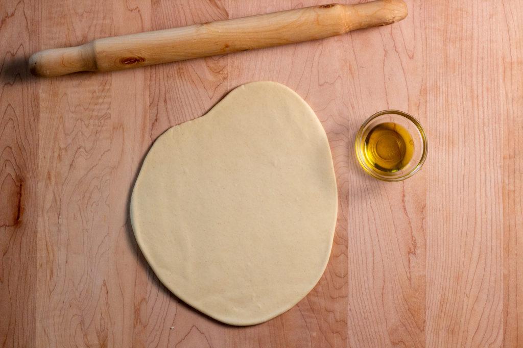 Semolina pasta dough for pici - q.b. cucina
