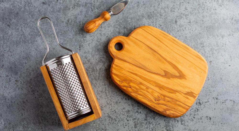 Olive wood utensils - q.b. cucina