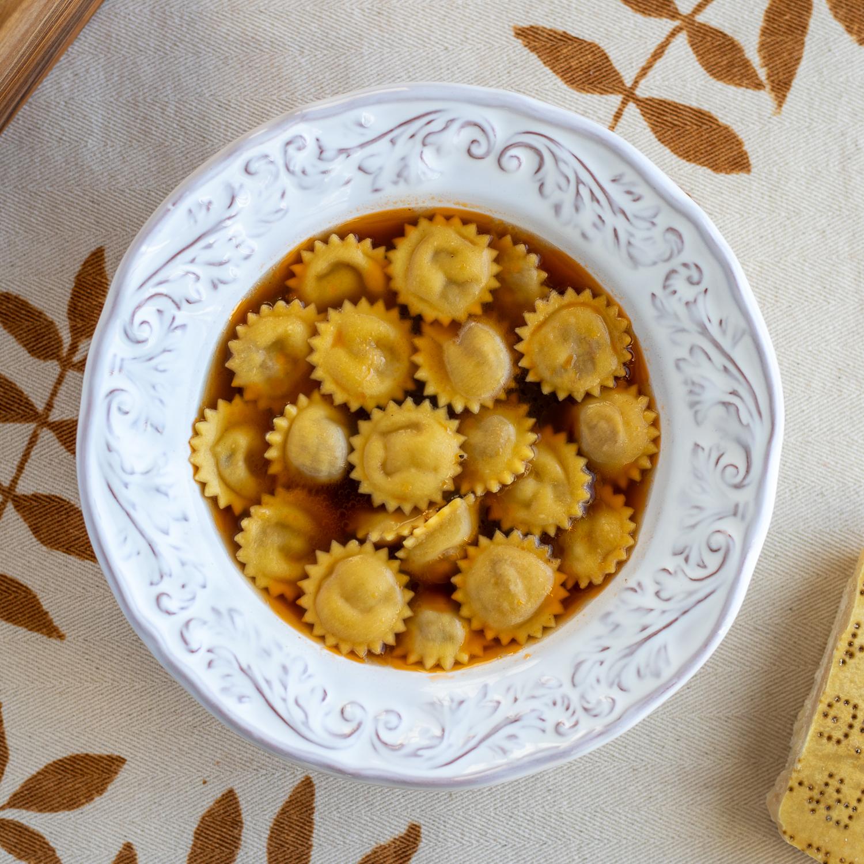 Anolini in brodo recipe