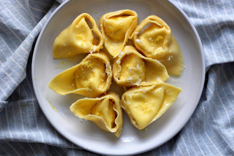 Lemon Ricotta Tortelloni