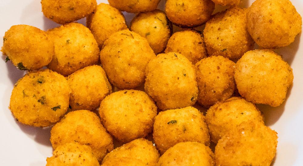 Polpette di Riso - q.b. cucina - recipe and photo by Emma Givens