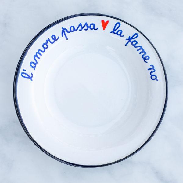 Italian enamelware dishes