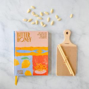 Bitter Honey Cookbook, malloreddus pasta, gnocchi baord