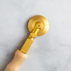 Brass pasta cutter