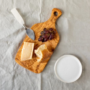italian olive wood cheese board