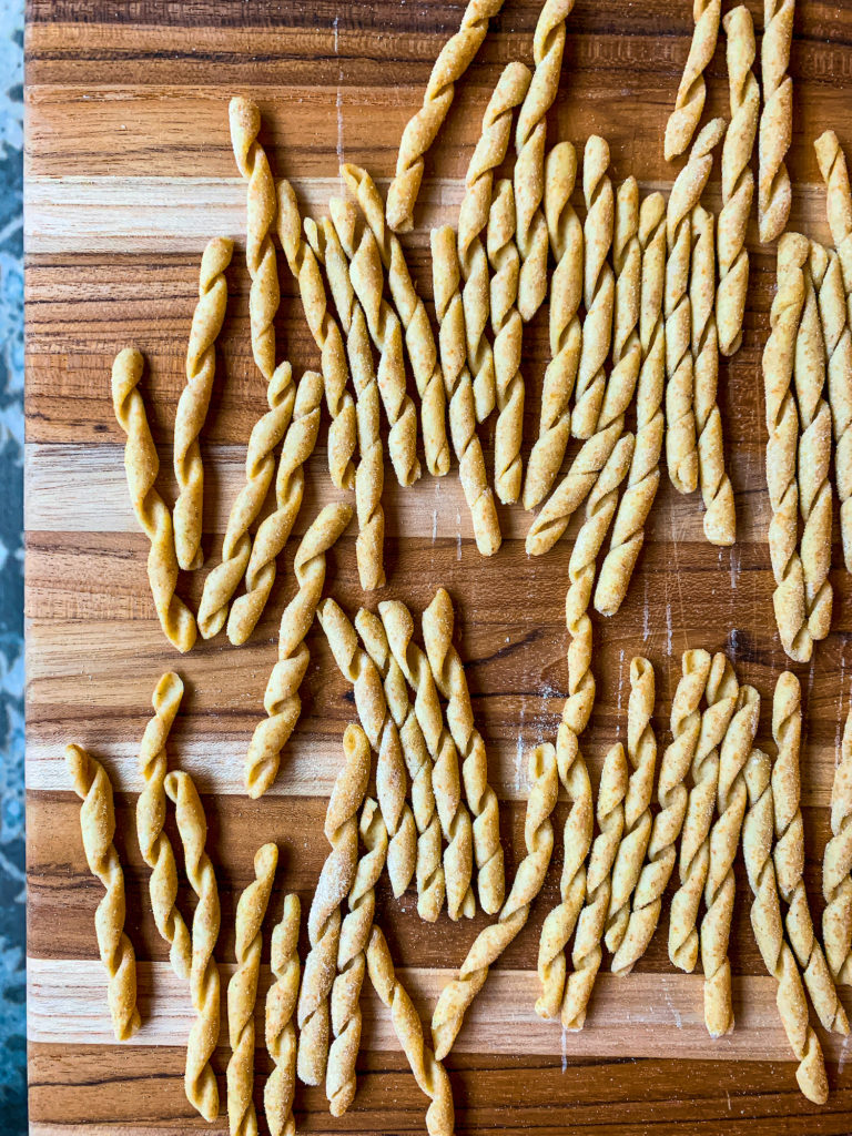 Busiate pasta by Meryl Feinstein of Pasta Social Club - qbcucina.com